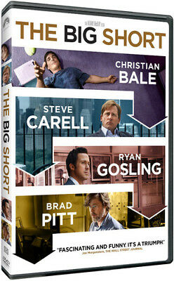 The Big Short [New DVD] Ac-3/Dolby Digital, Dolby, Dubbed, Subtitled, Widescre