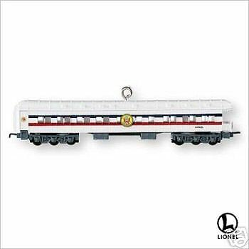 2007 Hallmark LIONEL Train #12 Ornament FREEDOM OBSERVATION CAR *Priority Ship