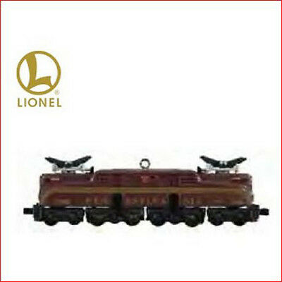 2011 Hallmark LE Ornament LIONEL TRAINS Pennsylvania GG-1 Locomotive *Priority