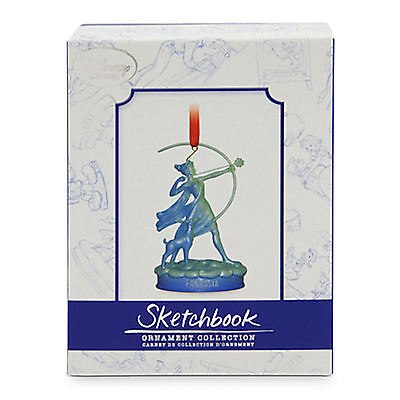 Disney Store Limited Edition Fantasia Diana Sketchbook Ornament Le 1000 1940