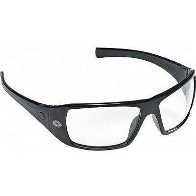 Dickies Mens Pyramex Goliath Wrap Around Safety Glasses Spectacles