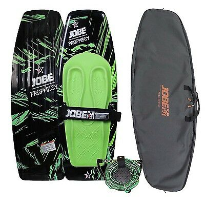 Jobe Prophecy Green Kneeboard Package with Cover & Rope