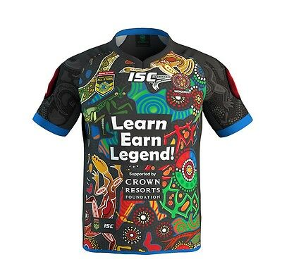 IAS Indigenous All Stars 2017 On Field Jersey Adults & Kids Sizes! NRL