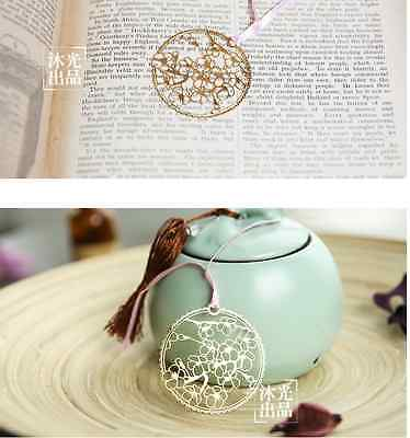 18KGP Golden Round Shape SAKURA Bookmark