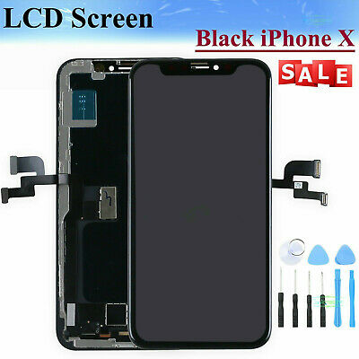 LCD Display For iPhone X 10 Touch Screen Digitizer Assembly Replacement Black