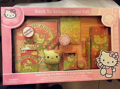 sanrio hello kitty back to school set 40 pieces brand new