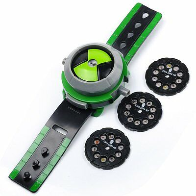 Ben 10 Alien Force Omnitrix Illumintator Projector Watch Toy Gift for Child【UK】