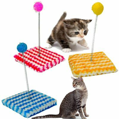 Cat Sway Pole Play Pole- Various Colours