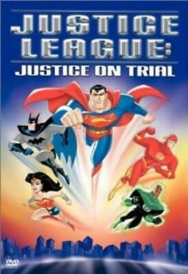 Justice League Justice On Trial DVD