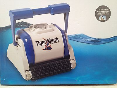 Hayward Tiger Shark Automatic Swimming Pool Robot Vacuum Cleaner