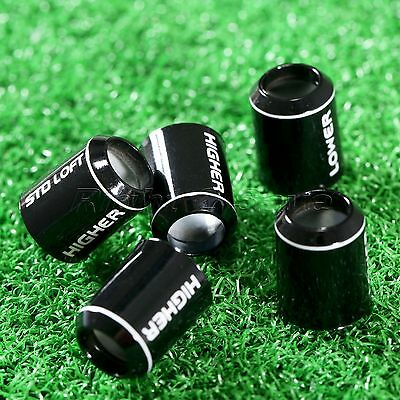 5Pcs Black Replace Plastic Golf Sleeves Ferrules Caps for Taylormade R1 Models