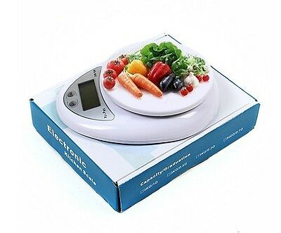 Digital LCD Electronic Kitchen Tool Scale Cooking Food Weighing Postal Scales