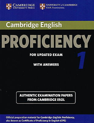 Cambridge English PROFICIENCY 1 with Answers CPE ESOL Examination NEW@ Book only