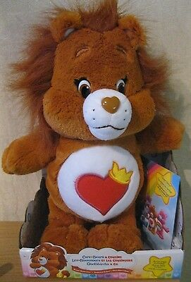 Care Bears And Cousins - Brave Heart Lion With Dvd - Lovely Cuddly Toy