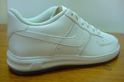 Junior Boys Girls Nike Af 1 Lunar Nike Air Force 1 White Sports Casual Trainers