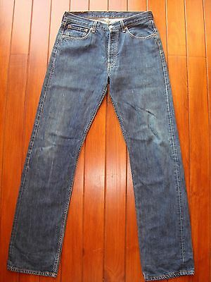 Levi's 501 Straight Jeans W33 Button  Fly / Vaqueros Rectos