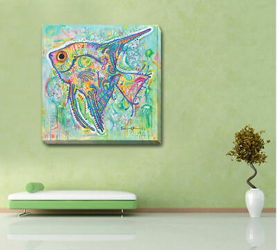 Fish Animals Stretched Canvas Print Framed Wall Art Home Office Decor Painting