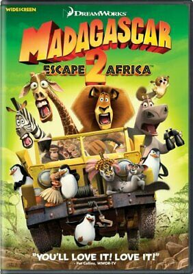 Madagascar: Escape 2 Africa (Widescreen DVD