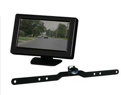 """Reversing Reverse Camera Gator G427 System Wired 4.3"""" Colour Lcd Monitor"""