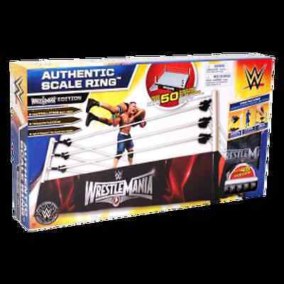 wwe wrestling RING SCALE GIGANTE WRESTLIMANIA  INTROVABILI MATTEL