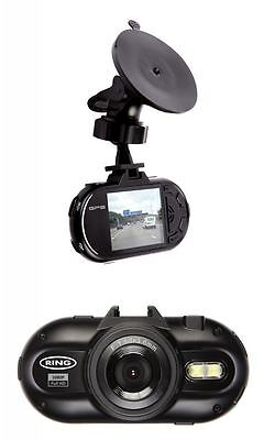 RING RBGDC200 1080p Car Dash Camera With GPS In Vehicle Video Recorder Full HD
