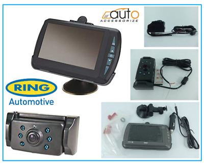"Ring RBGW430 12V/24V Digital Wireless Colour 4.3"" Reversing Reverse Camera Kit"