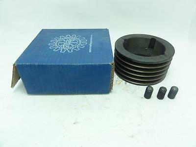 """138370 New In Box, Martin 53V475TB Bushed Pulley 5 Groove 4-3/4"""" OD"""