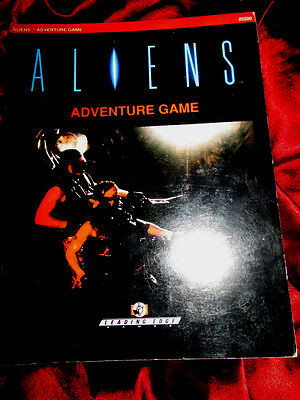 ALIENS ADVENTURE GAME - ROLEPLAYING GAME Rulebook RPG OOP