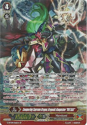 Cardfight: Conquering Supreme Dragon Dragonic Vanquisher Voltage G-Bt09/s16En Sp