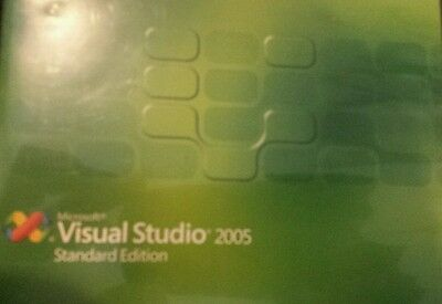 Microsoft Visual Studio 2005 Standard STD Edition Basic C++ C# J++ Academic