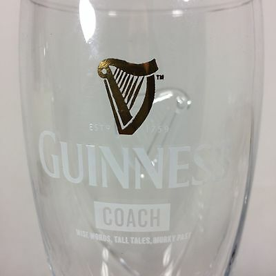 Limited Edition Guinness Pint Glass Rugby World Cup 2015 - COACH