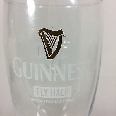 Limited Edition Guinness Pint Glass Rugby World Cup 2015 - FLY HALF