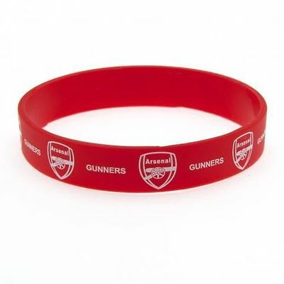 Official Licensed Product Arsenal Silicone Rubber Wristband Red Gunners Gift New