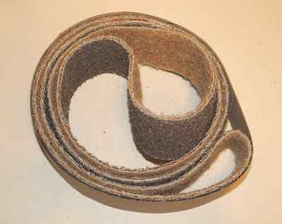 "2""x 72"" Sanding Belt Surface Conditioning- Coarse Brown"