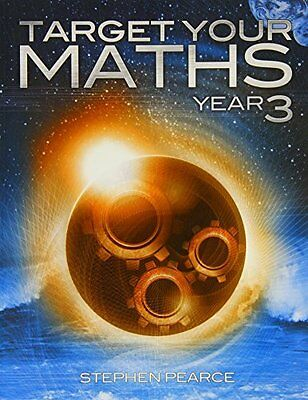 Target Your Maths Year 3: Year 3 by Stephen Pearce New Paperback Book