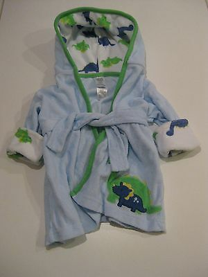 Just One You Made By Carter's Baby Boy Dinosaurs Robe Blue Size 0-9 Months