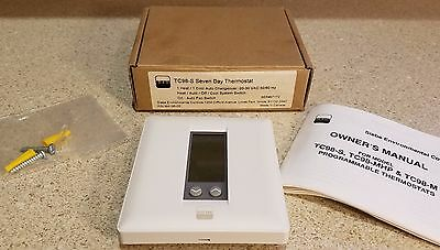 New In Box! SIEBE TC98-S Seven Day Thermostat 7 air conditioning heating ac hvac