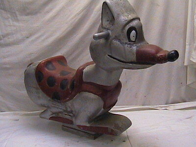 Playground Spring Ride Wile E Coyote Vintage Aluminum Fox Gametime Saddle Mates