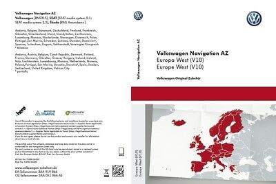 VW RNS 315 Navigation V9 AZ Europe West SD Navigation Map SKODA AMUNDSEN SEAT