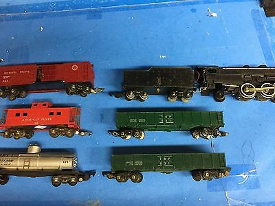 American Flyer 300 Reading Steam Locomotive & Freight Train Cars