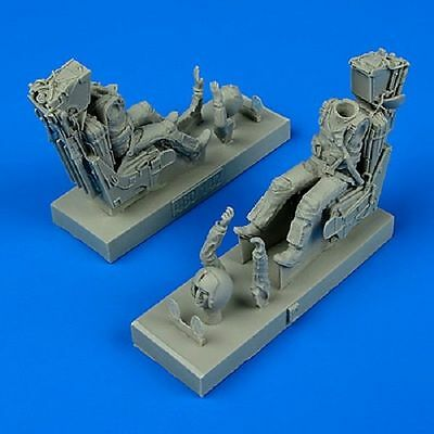 Aires 480142 1/48 USN Pilot & Operator w/Ejection Seats F14A/B Tomcat