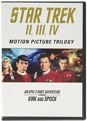 Star Trek: Motion Picture Trilogy II, III, IV [New Blu-ray] 3 Pack, Dolby, Dub