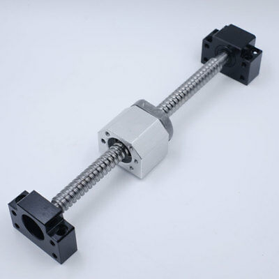 Travel L1000mm C7 SFU1605 Ballscrew Ballnut&BK/BF12 Support&Nut Bracket CNC