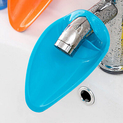 Silicone Bathroom Faucet Extender Sink Handle Extender For Children  Washing