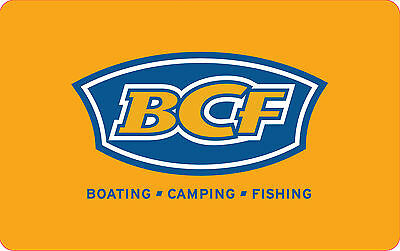 BOATING CAMPING FISHING Gift Card $100