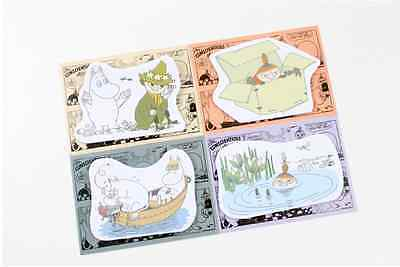 Moomin 15Pages Sticky Memo/ Sticker/ Post it Notes/ Pad