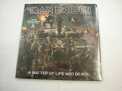 Iron Maiden - A Matter Of Life And Death - 2Lp Picture Disc New Sealed 2006