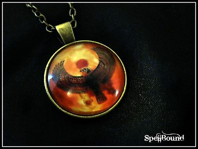 SPELL-INFUSED Egyptian POWER Medallion NECKLACE 99% Accurate WITCH Amulet WICCA
