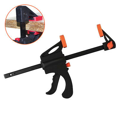 Ratchet Release Speed Squeeze Wood Bar Clamp Spreader Tool Woodworking Kit MW