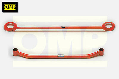 OMP UPPER & LOWER STRUT BRACE VW GOLF MK4 1.9TDi DIESEL
